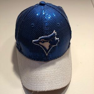 Victoria's Secret Pink Sequin Blue Jays Hat